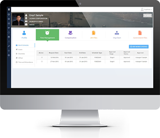 Screenshot employeeportal sm new